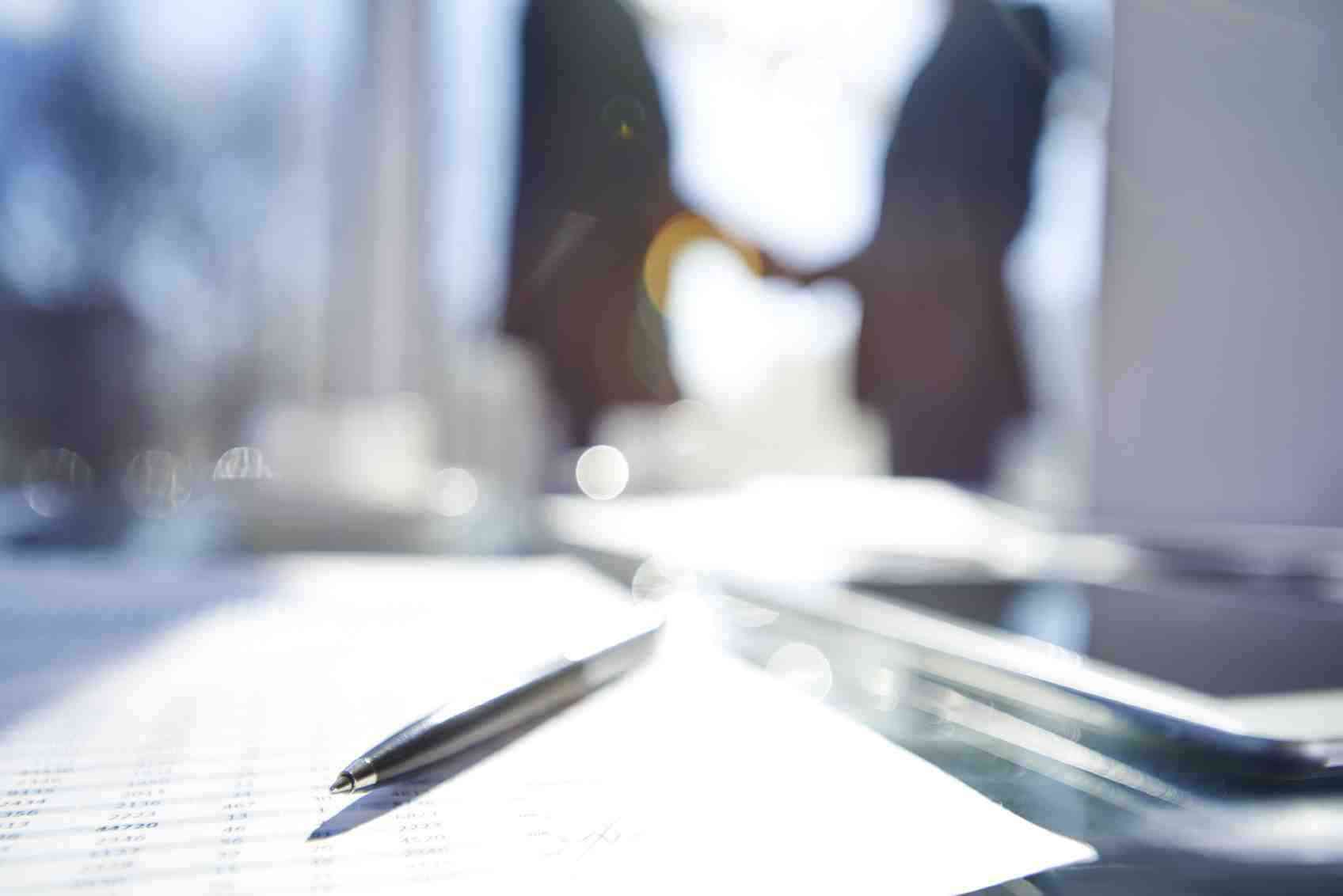 Blurred business success