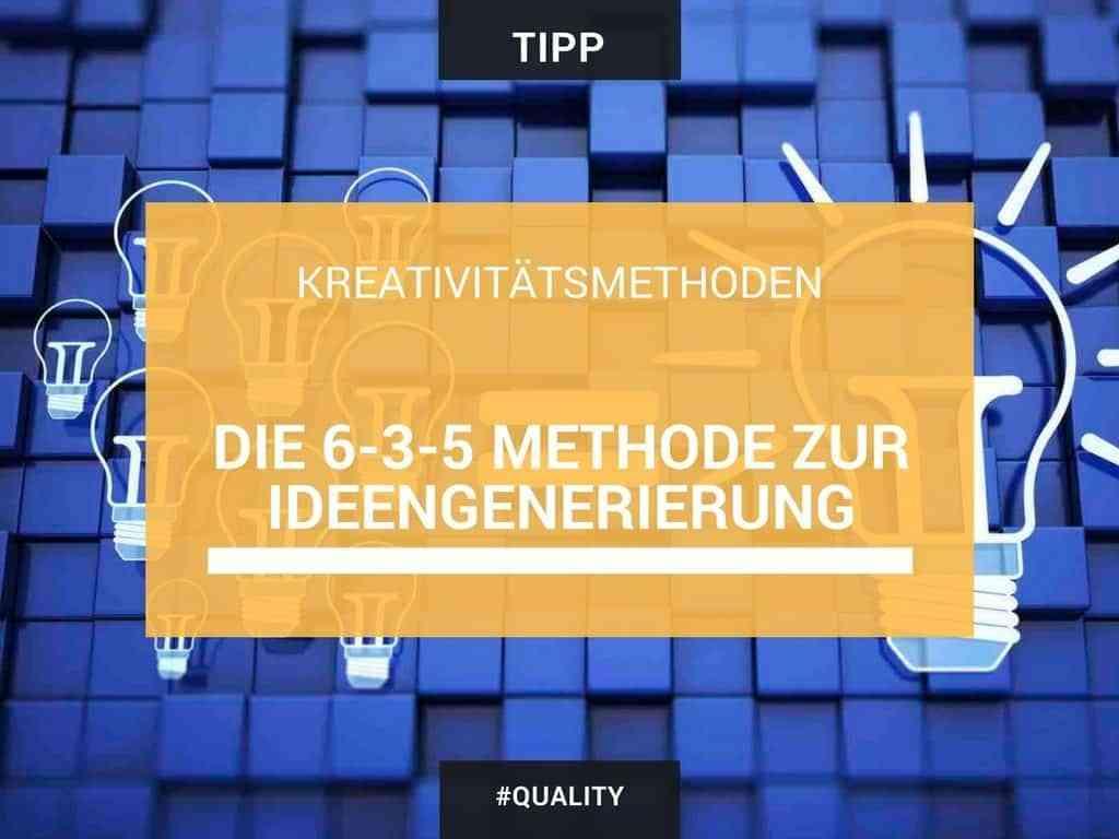 Die 6-3-5 Methode zur Ideengenerierung 22
