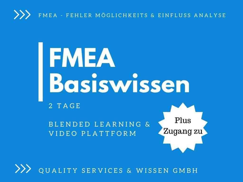 FMEA-Basiswissen