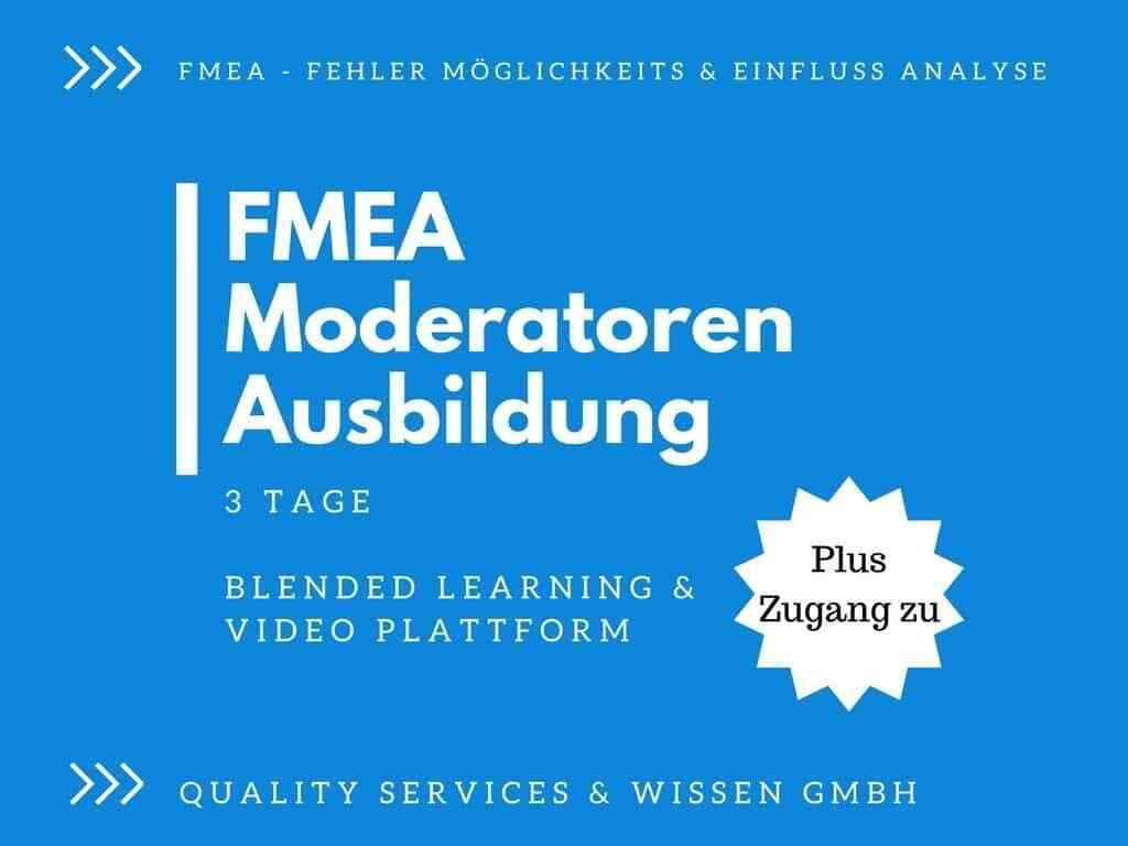 FMEA-Moderatorenausbildung