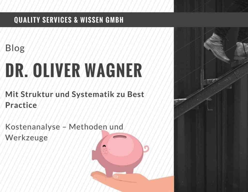 Kostenanalyse - Methoden und Werkzeuge 2