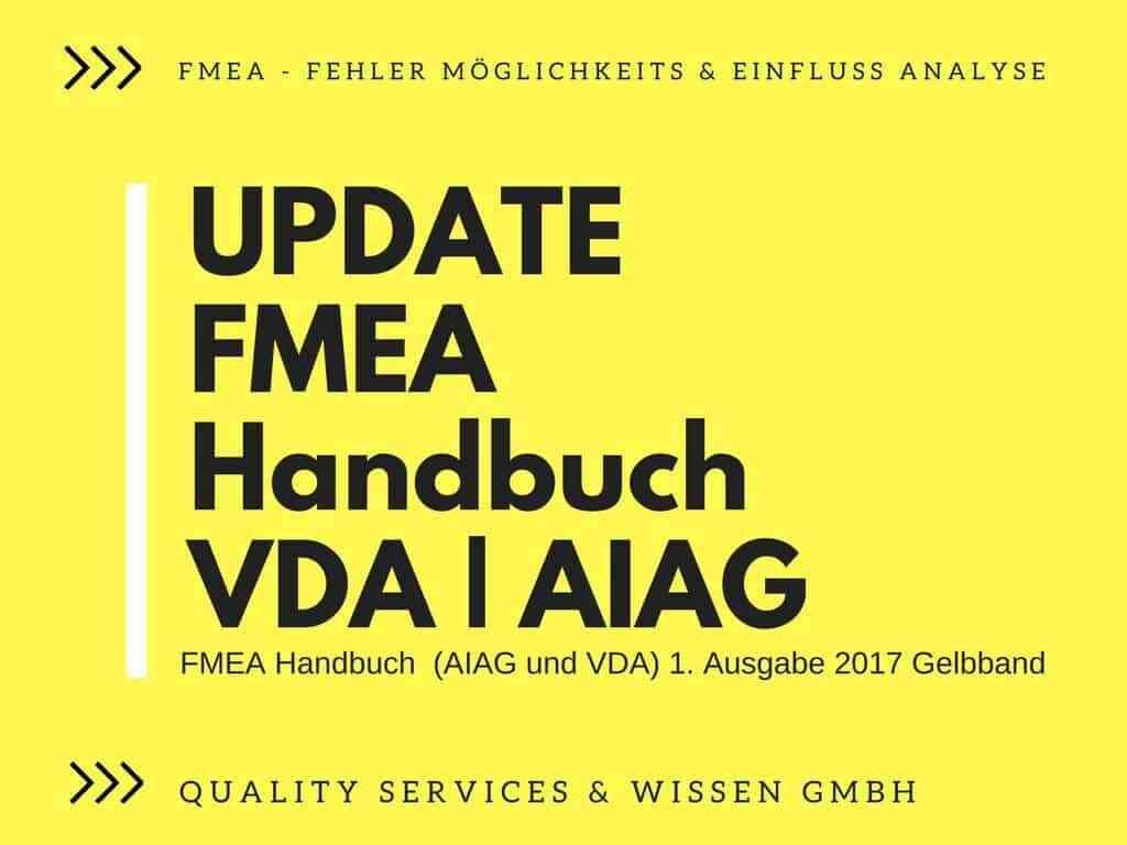 Update Handbuch FMEA VDA AIAG