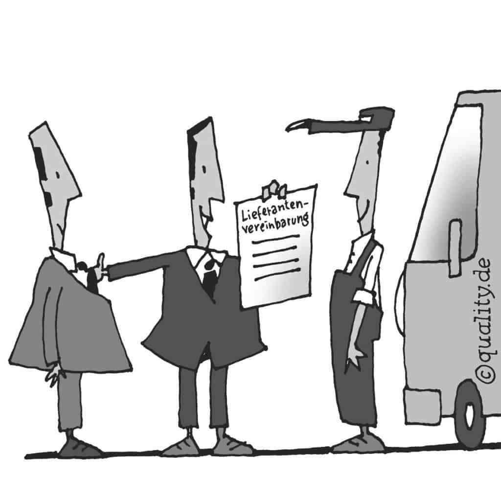 Lieferantenvereinbarung