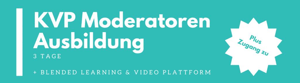 KVP Moderatoren Ausbildung (3 Tage)
