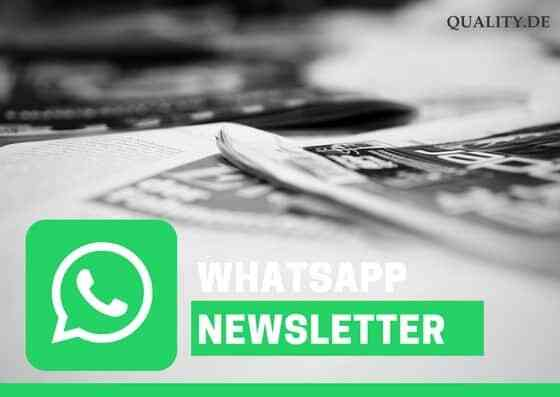 quality whatsapp newsletter