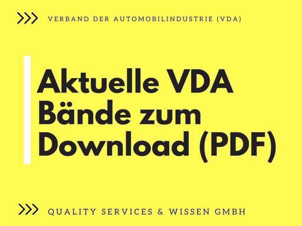 Aktuelle Gelbdrucke des VDA 59