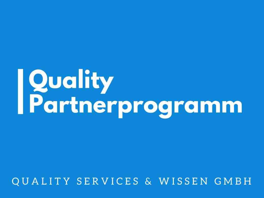 Quality Partnerprogramm 10