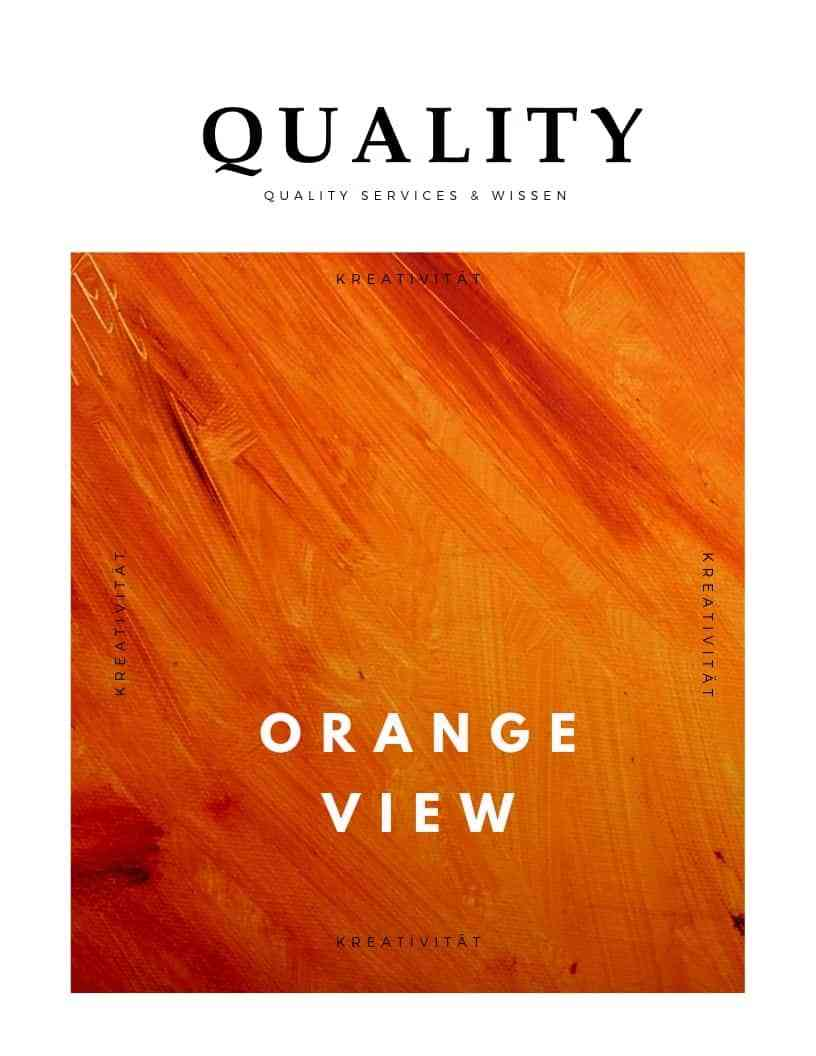 Orange View Methode