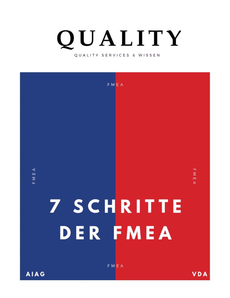 Download: 7 Schritte der FMEA nach VDA / AIAG (PDF) 6