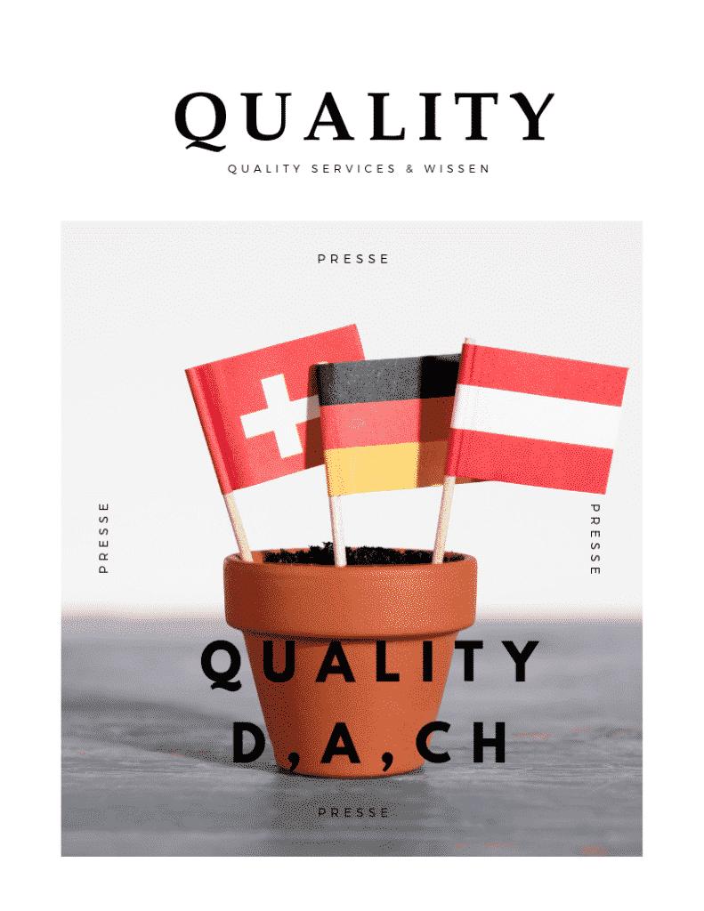 Quality Services & Wissen D, A, CH 15