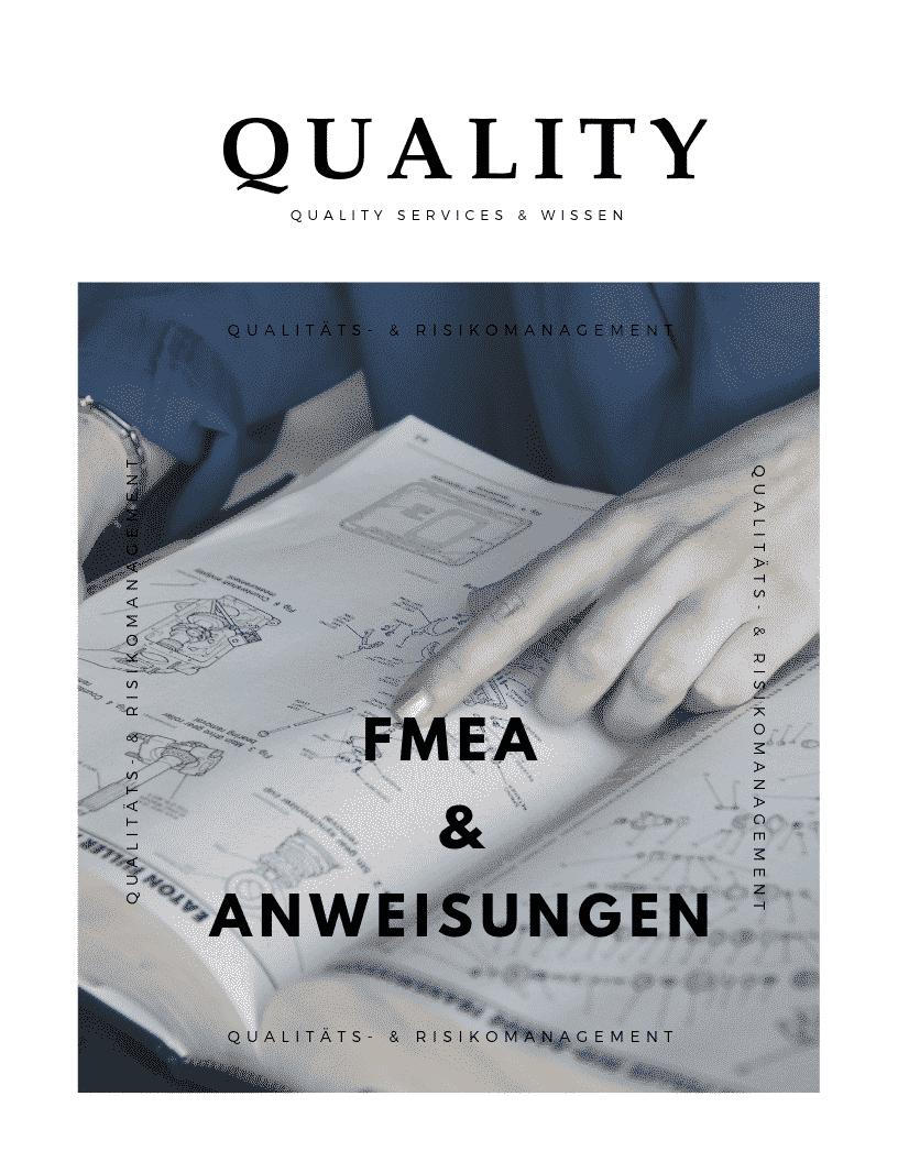 """Arbeitsanweisungen aus der """"FMEA"""" ableiten"""