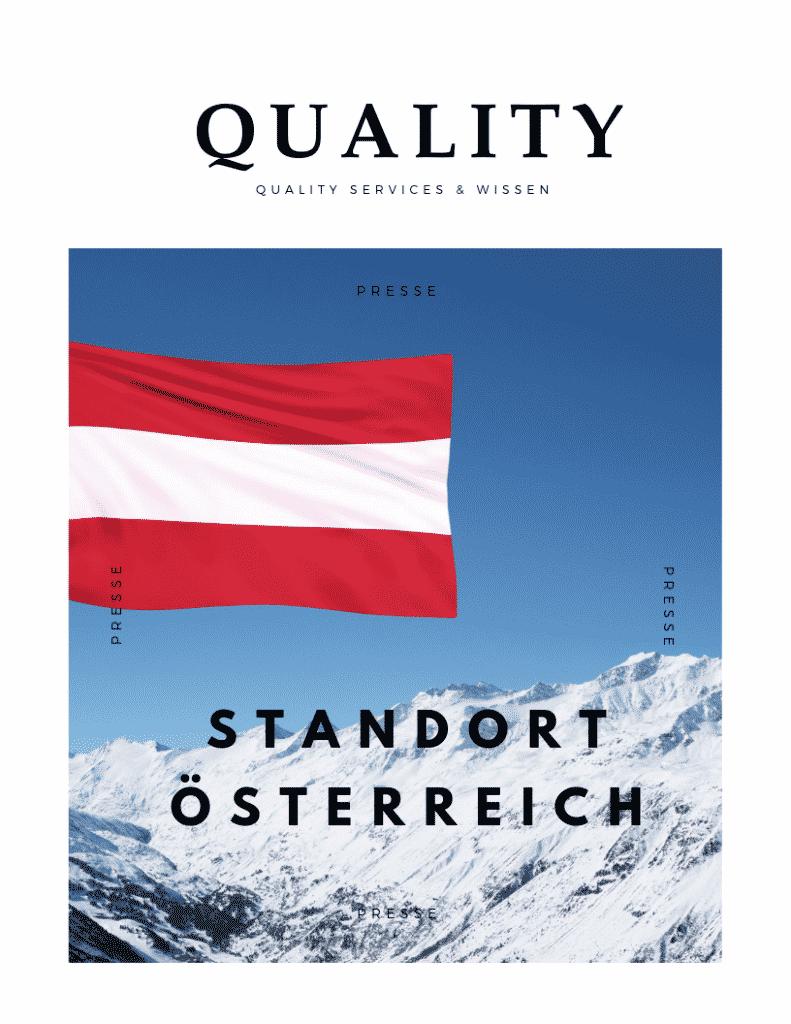Quality Services und Wissen in Österreich 4