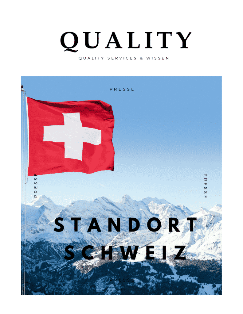 Quality Services und Wissen Swiss 16