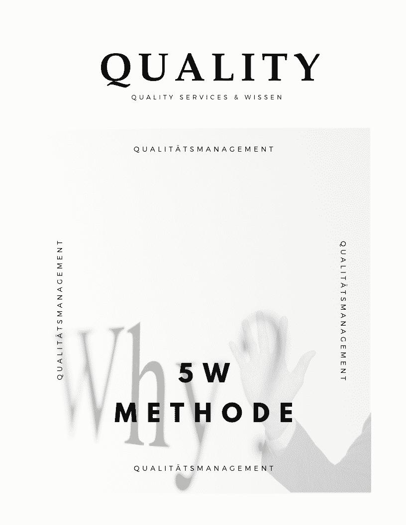 5W Methode