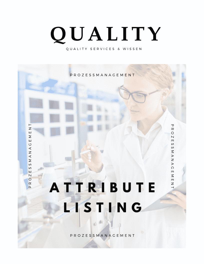 Attribute Listing