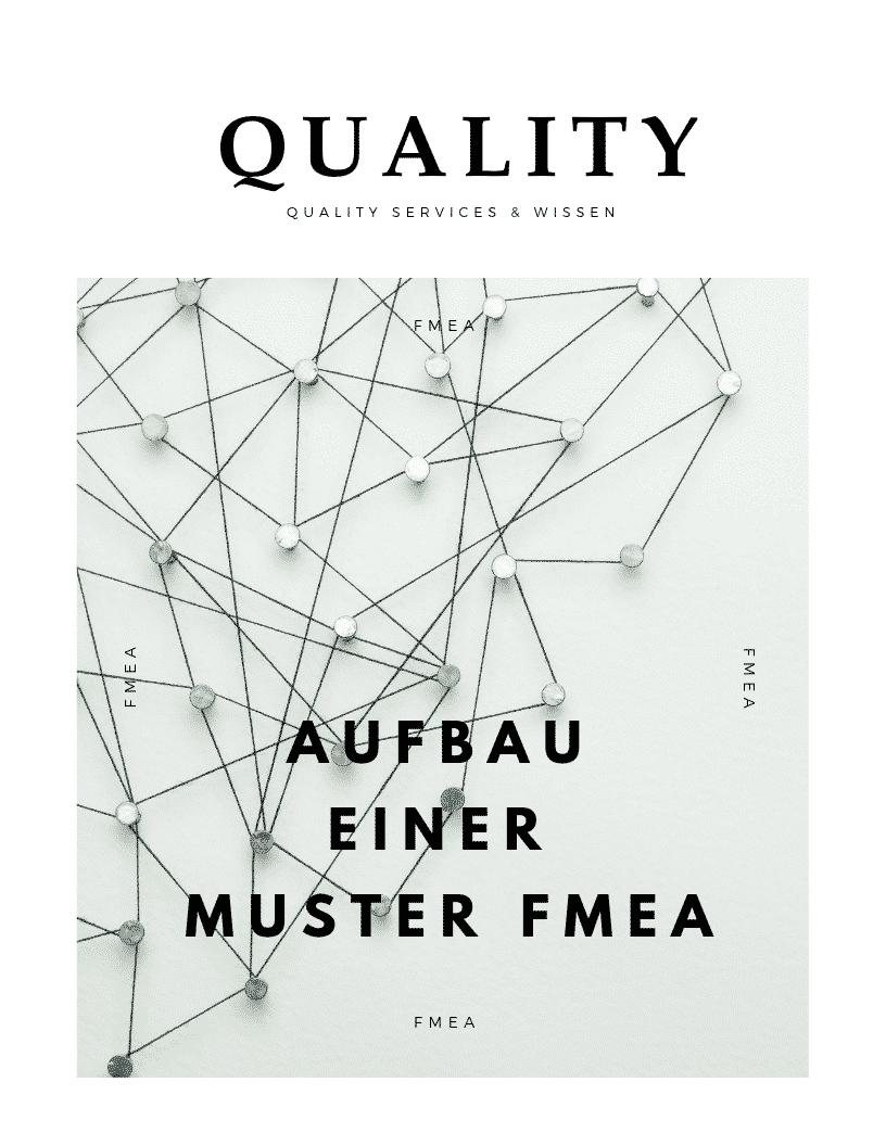 Aufbau einer Muster FMEA