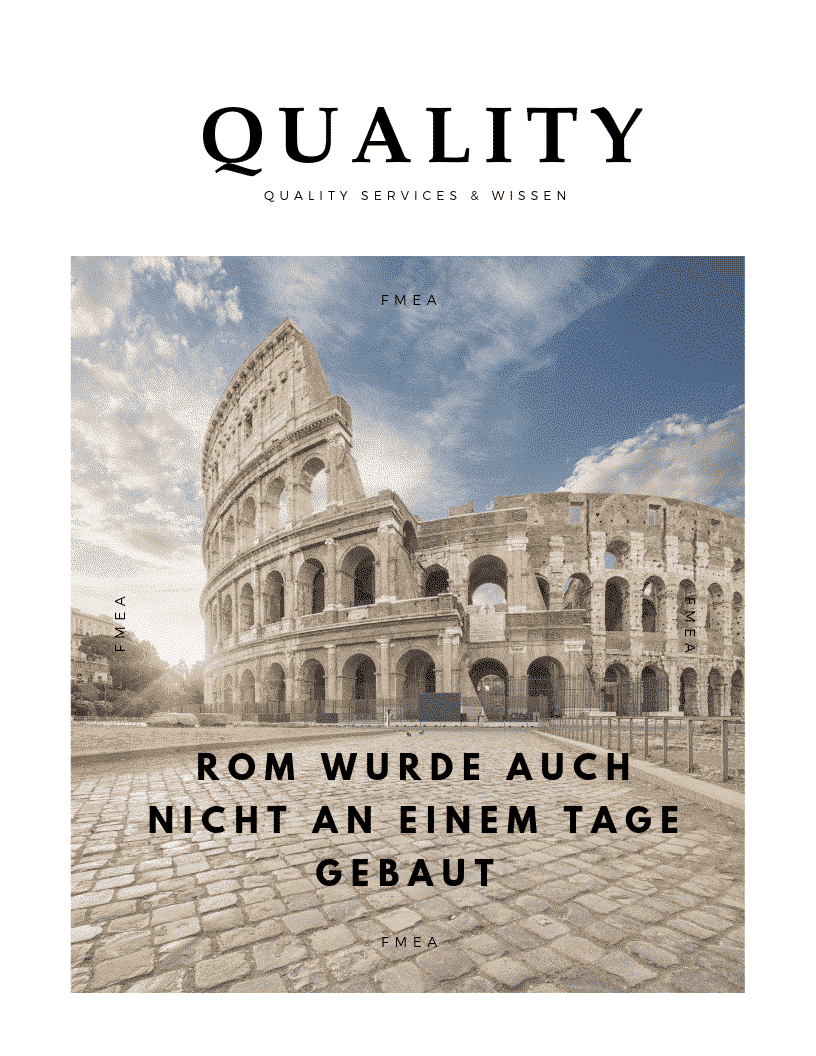 Rom wurde auch nicht an einem Tage gebaut 1 1