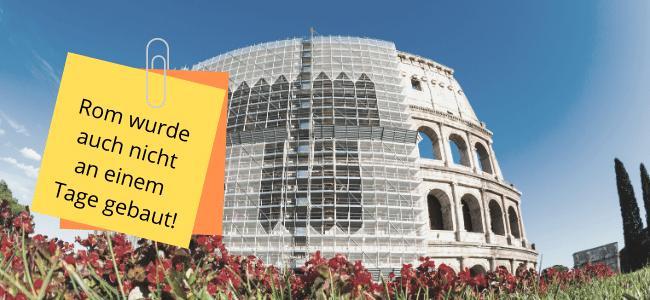 FMEA: Rom wurde auch nicht an einem Tage gebaut!