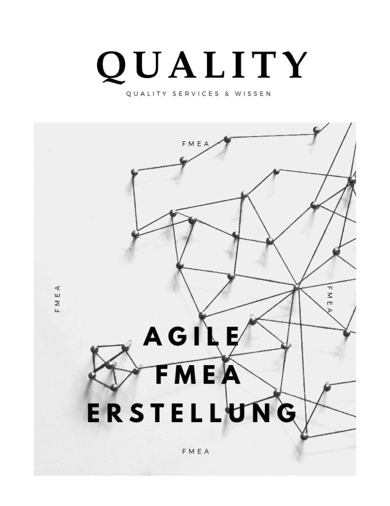 Agile FMEA Erstellung. Passt Agilität & FMEA überhaupt zusammen? 8