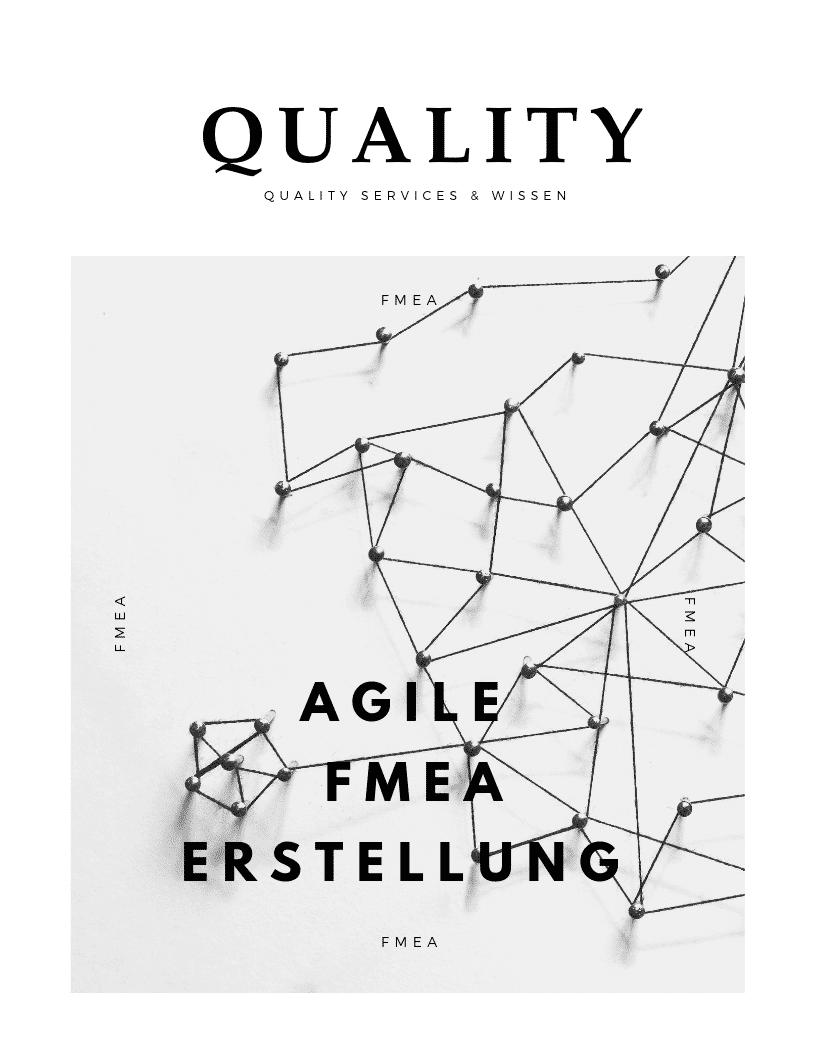 AGIL Agile FMEA Erstellung