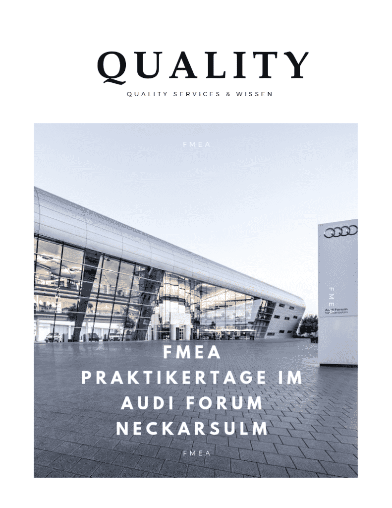 FMEA Praktikertage im Audi Forum Neckarsulm 4