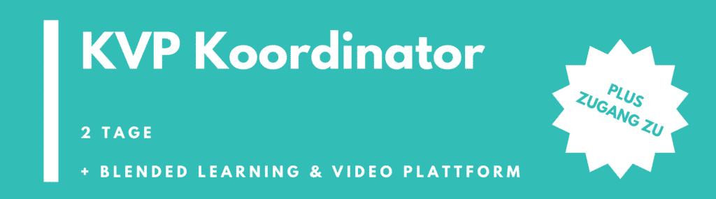 KVP Koordinator | KVP Koordinatorenschulung