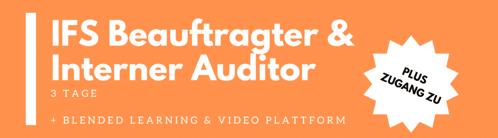 ifs beauftragter interner auditor