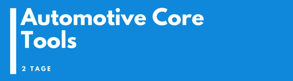 Automotive Core Tools Seminar