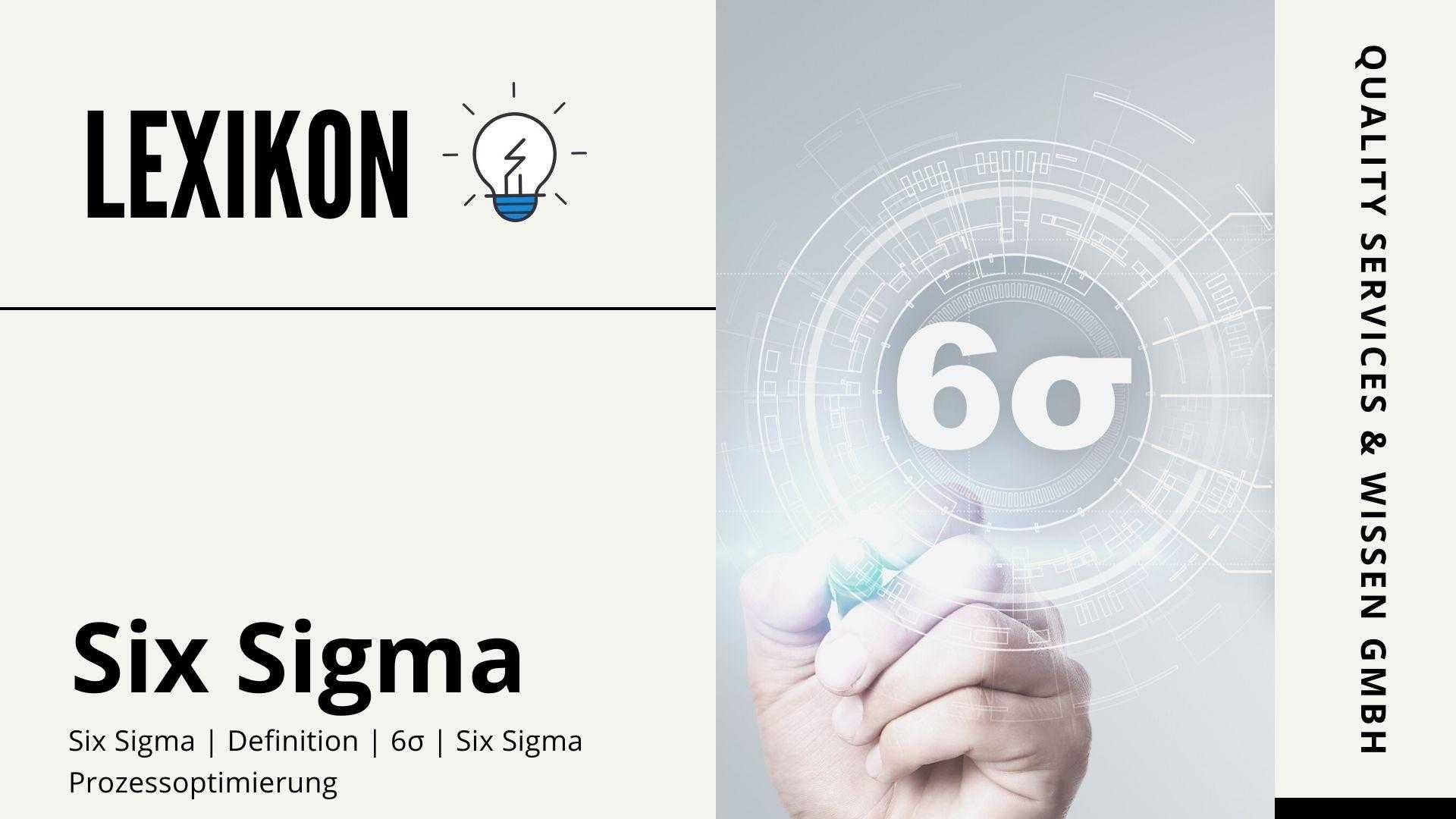 lexikon six sigma