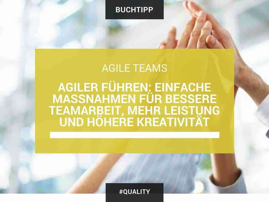 Agile Teams Teamarbeit