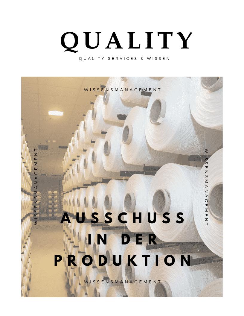 Ausschuss Produktion