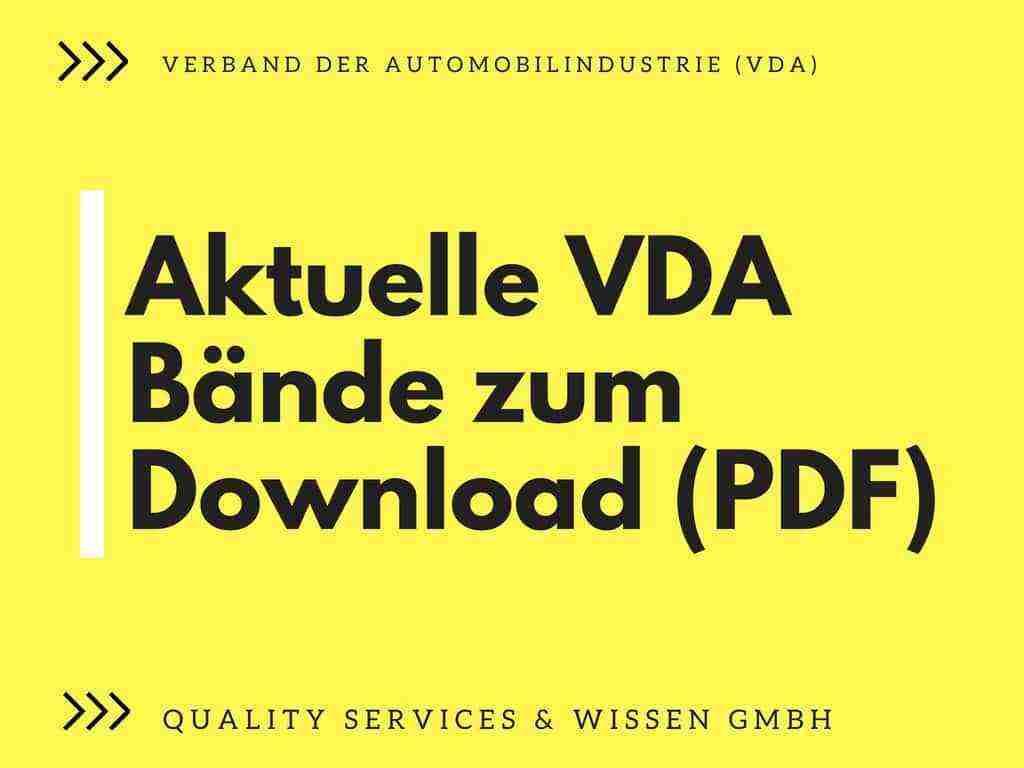 Gelbdrucke Verband der Automobilindustrie VDA