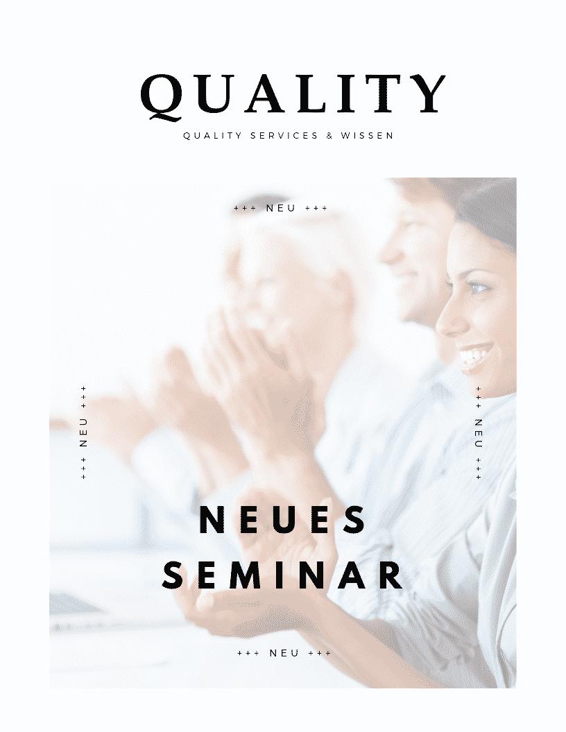 Neues Seminar