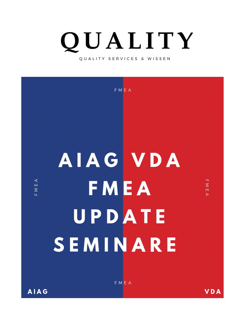 '+++ NEWS +++ AIAG- und VDA-FMEA-Handbuch +++ NEWS +++