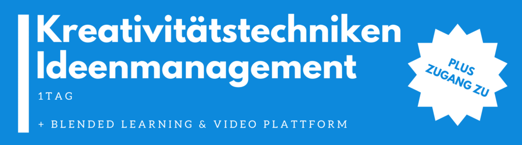 Kreativitätstechniken & Ideenmanagement Seminar | Schulung  | Training