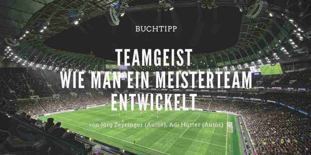 Teamgeist – Wie man ein Meisterteam entwickelt (Buchtipp)