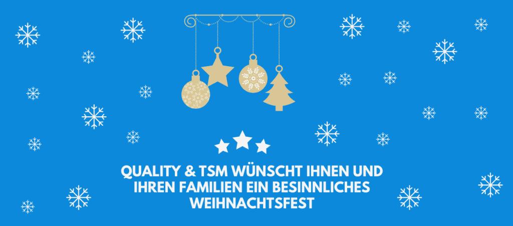 Quality Österreich: Wir wünschen frohe Weihnachten und sagen Danke!
