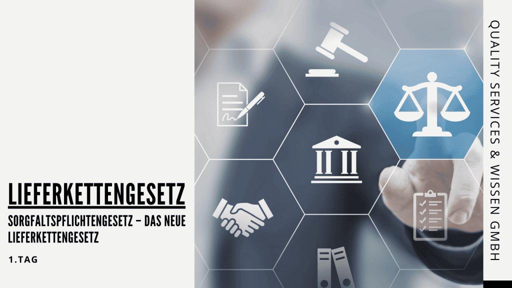 Sorgfaltspflichtengesetz – Das neue Lieferkettengesetz | Seminar | Schulung
