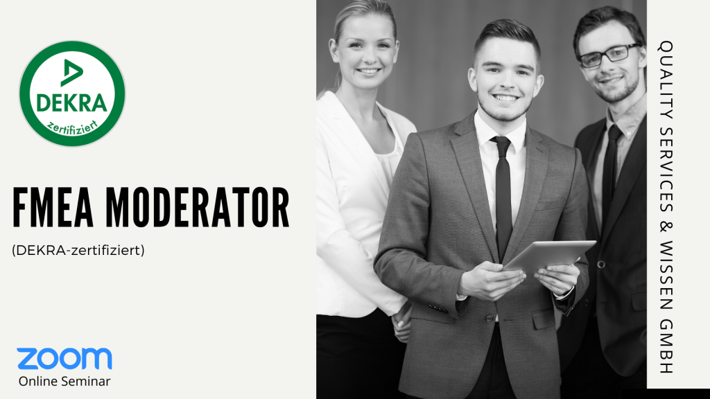 FMEA Moderator Ausbildung – Webinar